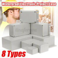 Enclosure Box Waterproof ABS Plastic Electronic Electrical Project Junction Case