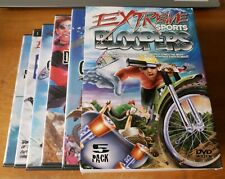 Extreme Sports Bloopers 5 Pack (DVD, 2001) Madacy Entertainment motocross RARE