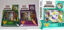 Pokemon Mythical Collection Mew + Celebi + Jirachi Box 20th Anniversary