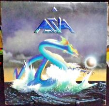 ASIA Self-Titled Album Released 1982 Vinyl/Record  Collection US pressed