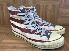 RARE🔥 Converse Chuck Taylor 70's Hi Retro American USA Flag Born In The USA S 5