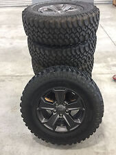 2017 Jeep Wrangler Recon Wheels and BF Goodrich Mud Terrain Tires