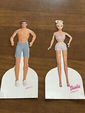 Vintage Barbie & Ken Gala Evening Fashions Paper Dolls Golden Book 1998