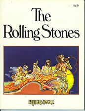 THE ROLLING STONES  fantastic book from 1975  (loaded with great pics)