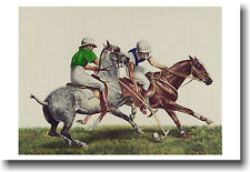 Polo Challenge - NEW Horse Sports Art Print POSTER