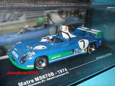 MATRA MS670B  N° 7 PESCAROLO - LARROUSSE - 24 HEURES DU MANS 1974 au 1/43°