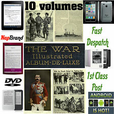 THE WAR Illustrated ALBUM DE LUXE 10 volumes PDF 3600 pages  1000 + pics WW1