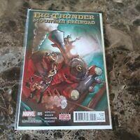 Big Thunder Mountain Railroad Marvel Comics Marvel Disney Comic Book #005 2015