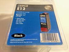 TESCO E12 EPSON T007 Stylus 790 - 1290/S BLACK Ink Cartridge SEALED BRAND NEW