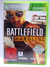 Xbox 360 / X360 Spiel - Battlefield Hardline (Classics) (mit OVP)(USK18)(PAL)