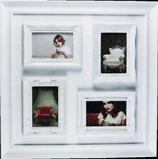 White Multi Frame French Provincial Photo Frame  (4 photos)