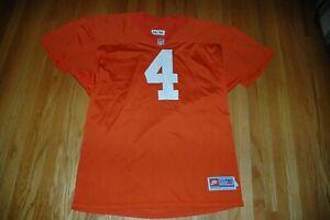 NFL Denver Broncos orange game worn used vintage practice jersey