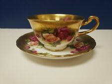 Royal Chelsea Golden Rose Tea Cup And Saucer