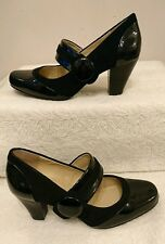 BNWT Clarks Women's Alpine Clover Patent Heels Odd Sizes Left 4.5 D Right 4D