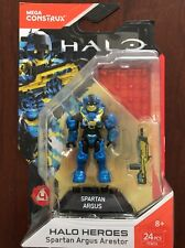 New FALL 2017 Spartan Argus Arestor Mega Bloks Halo Heroes Series 4 FFM76
