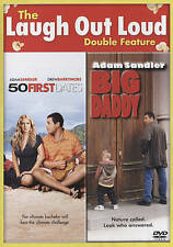 50 First Dates & Big Daddy DVD, 2015, 2-Disc Set Double Feature Adam Sandler New