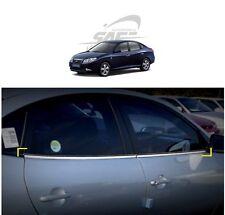 SAFE Window Door Belt Chrome Molding 4Pcs For Hyundai Elantra HD 2006 2010