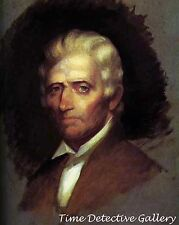 Daniel Boone by Chester Harding - 1820 - Print of Historic Painting
