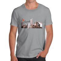 Men's I Love Manchester Novelty T-Shirt