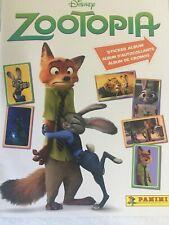 Disney Zootopia Panini Sticker Collection Album