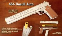 DIY 1/1 Scale Hellsing-PM 454 Casull Auto Gun 3D Paper Model Military Puzzle Kit