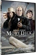 Moby Dick (DVD, 2015) Patrick Stewart, Henry Thomas, Gregory Peck    [BRAND NEW]