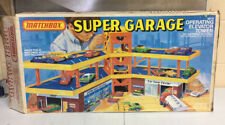 Lesney Matchbox Super Garage With Elevator Lift - 1979 - In Box