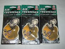 Lot of 3-NCAA Louisiana State University LSU Tigers 3-PACK HELMET AIR FRESHENERS