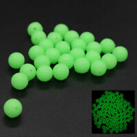 200X Glow In Dark Round Rig Beads Sea Fishing Lure Floating  Float Tackle 5 G7V6