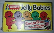 VINTAGE 1984 JELLY BABIES BOX Doctor Who 1980s vtg BASSETTS candy Children Need