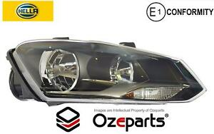 HELLA RH Right Head Light Lamp (Non LED Type) For VW Volkswagen Polo 10~14