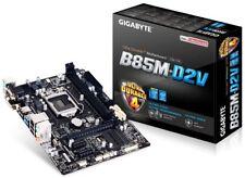 Gigabyte B85M-D2V Intel Socket 1150 Motherboard I3/I5/I7 4th Gen CPU Mainboard