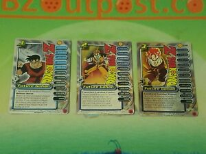 DRAGON BALL  DBZ Capsule Corp Power Pack Future Gohan 1-3 foil promo personality