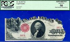 "*FR-36 1917 $1 US Note """" 2 Digit """" (( Birthday Note )) PCGS 50 Apparent # B87A"