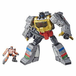 Transformers Studio Series 86-06 Leader The Movie Grimlock and Autobot Wheelie