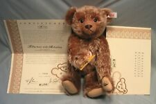 STEIFF ROLOPLAN TEDDY BEAR 2005 PLUSH GROWLING TOY WITH KITE & CERTIFICATE #699