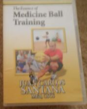 The Essence of Medicine Ball Training Juan Carlos Santana Workout Fitness DVD
