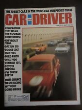 Car & Driver Magazine May 1972 10 Best Cars in World Vega Colt Pinto Opel (DD)
