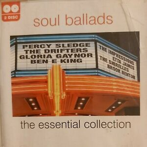 SOUL BALLADS - THE ESSENTIAL COLLECTION - CD ALBUM - 2007 - TWO DISCS