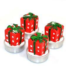 Novelty Decorative Christmas Decorations Candles Gift Box Xmas Home Decor