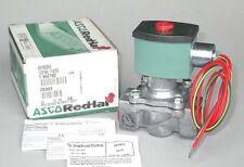 "ASCO Solenoid Valve 8215G033 3/4"" NPT, 120V, N.O.,Fuel Gas, Inert Gas, Air 4KY52"