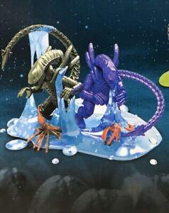 Confirmed Purple & Green  Mega Construx Aliens Slime Eggs Series 2 Aliens Egg
