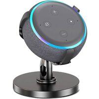 Table Holder For Echo Dot 3Rd Generation,360° Adjustable Stand Bracket Moun G1K2