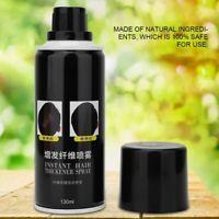 Black Light Brown Hair Growth Building Fiber Head Hold Lock Finishing Hair Spray