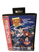 Vintage 1990's Justice League Task Force Sega Genesis Video Game