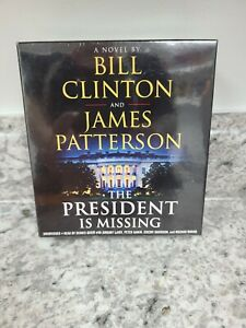 The President Is Missing Audio Book CD By Bill Clinton and James Patterson New