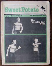 Sweet Potato Mass. Music Magazine May 1977 THE POUSETTE-DART BAND