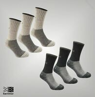3 Pack Ladies Karrimor Anatomically Shaped Heavyweight Boot Sock Size 4-8