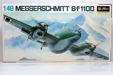 1/48 FUJIMI MESSERSCHMITT BF110D Plane Kit NEW Sealed Bags FREE SHIP
