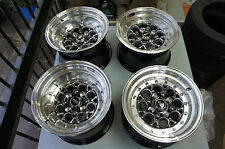 "JDM Drag Style racing 13"" rims wheels weld pcd100 pcd114x4 mx5 miata ae86 ta22"